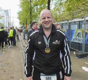 201404 Rotterdam marathon Arie RdamMar