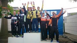201505 TVS heren 2e divisieteam 3e in Weert
