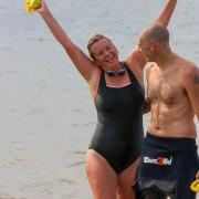 201508 Beach2Beach  Anita en Arjen